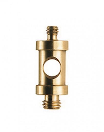 Адаптер короткий 16 мм із зовнішнім різьбленням 1/4 '' і 3/8 ''