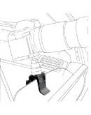 Затиск-опора для автомобільних вікон