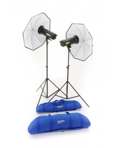 Комплект Lumen8 F400 + 2 стійки і 2 парасольки UK