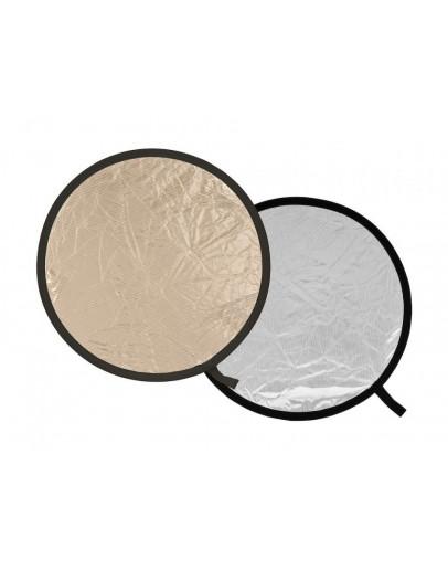 Відбивач складаний, 75 см, Sunlite / Soft Silver