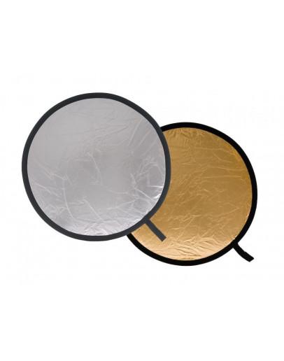 Відбивач складаний, 75 см, Silver / Gold