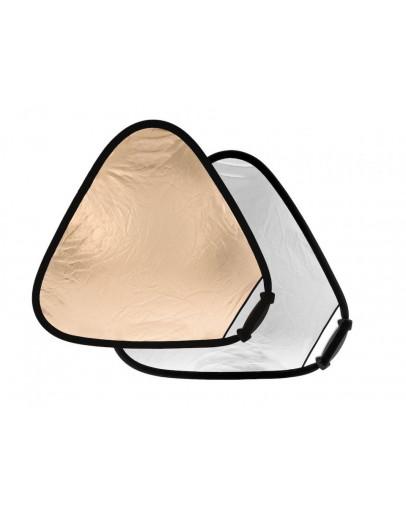 Відбивач трикутний Trigrip 75см Sunfire / Silver