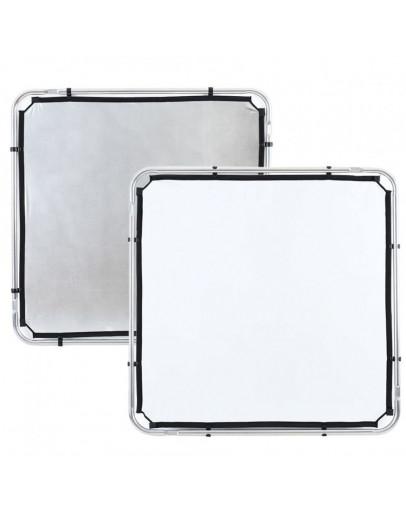 Відбивач Skylite Rapid Fabric S 1.1x1.1м срібло / білий