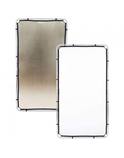 Відбивач Skylite Rapid Fabric М 1.1x2м золотистий / білий