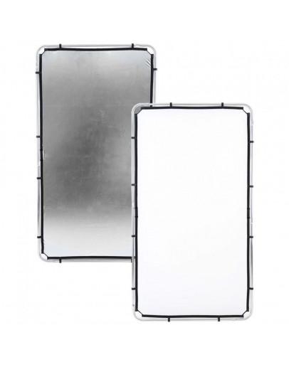 Відбивач Skylite Rapid Fabric М, 1.1x2 м, Silver / White