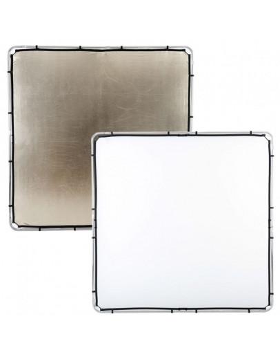 Відбивач Skylite Rapid Fabric L 2x2м золотистий / білий