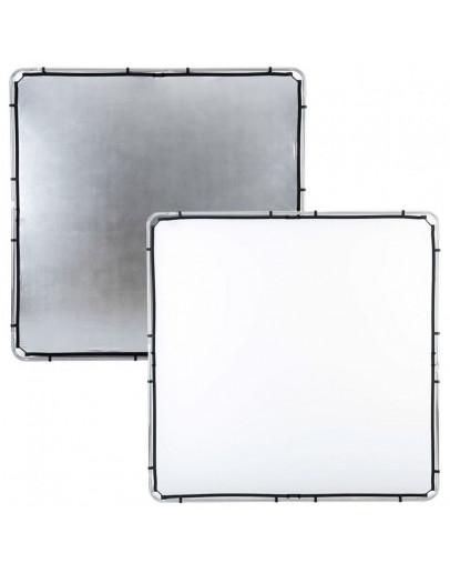 Відбивач Skylite Rapid Fabric 2 x 2 м срібло / білий