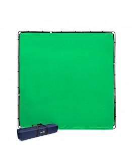StudioLink комплект хромакея 3 x 3м, зелений