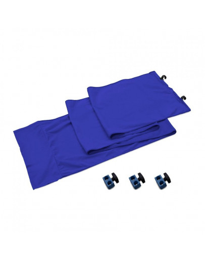 StudioLink комплект сполучний для хромакея 3м, синій