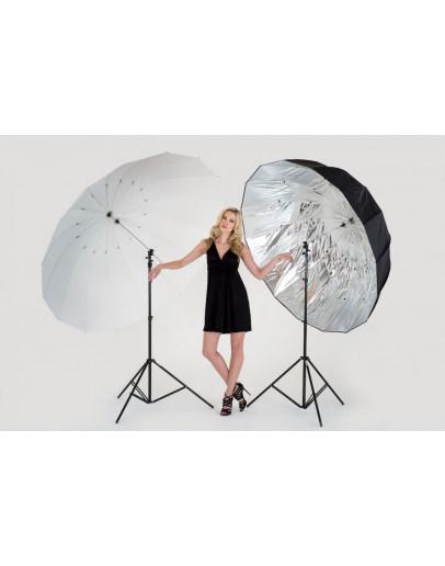 Комплект Mega: рама парасольки + прозоре і сріблясте покриття