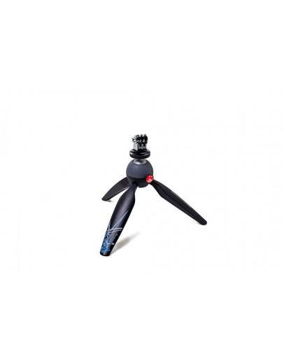 Міні-штатив, чорний, з адаптером кріплення для GoPro