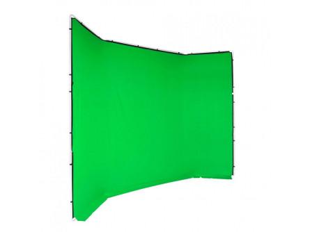 Manfrotto FX хромакей 4x2.9м фон зелений