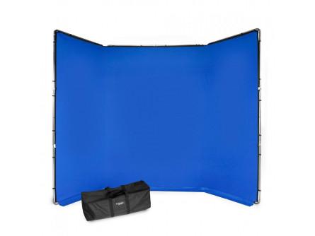 Manfrotto FX хромакей 4x2.9м комплект синій