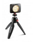 LED світильник Lumimuse з 6 світлодіодами і аксесуари., Чорний