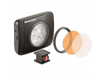 LED світильник Lumimuse з 3 світлодіодами і аксесуари., Чорний