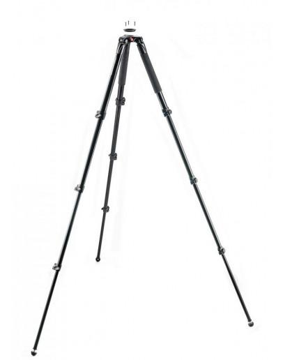 Відеоштатів алюмінієвий, 3 підйомника, півсфера 75-60 мм