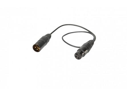 45-см кабель XLR-3F / 3M (3,0 мм)