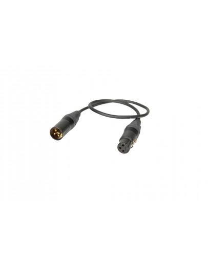 40-см кабель XLR-3F / 3M (4,8 мм)